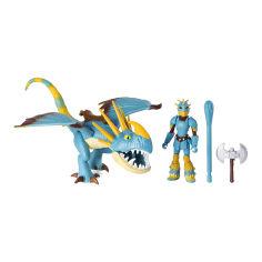 Акция на Набор Dragons Как приручить дракона 3 Громгильда в боевой броне и всадница Астрид (SM66621/7410) от Будинок іграшок