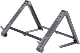 Акция на Подставка для ноутбука, планшета или смартфона Promate Elevate Grey (elevate.grey) от Rozetka