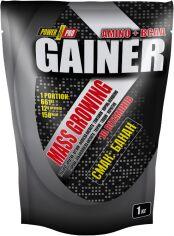 Акция на Гейнер Power Pro Gainer 1 кг Банан (4820214002432) от Rozetka