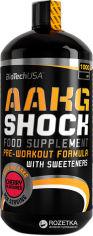 Акция на Аминокислота Biotech AAKG Shock Extreme 1000 мл Orange (5999076200337) от Rozetka