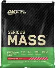 Акция на Гейнер Optimum Nutrition Serious Mass 5.45 кг Strawberry (748927023817) от Rozetka