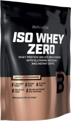 Акция на Протеин Biotech ISO Whey Zero 500 г Кофе - Латте (5999076222513) от Rozetka
