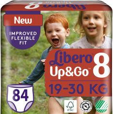 Акция на Подгузники-трусики Libero Up&Go 19-30 кг размер 8 84 шт (7322541481517) от Rozetka