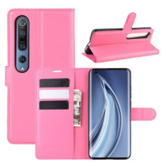 Акция на Чехол-книжка Litchie Wallet для Xiaomi Mi 10 / Mi 10 Pro Rose от Allo UA