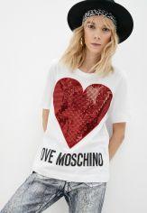 Акция на Футболка Love Moschino от Lamoda
