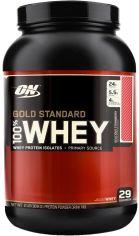 Акция на Optimum Nutrition 100% Whey Gold Standard 909 g /29 servings/ Strawberry Banana от Y.UA