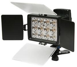 Акция на Накамерный свет PowerPlant LED 1040A (LED1040A) от Rozetka