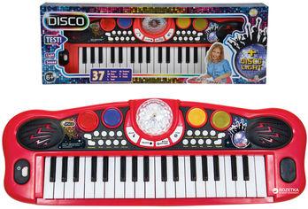 Музыкальный инструмент Simba Toys Диско Электросинтезатор 37 клавиш 8 ритмов 56 см (6834101) от Rozetka