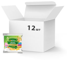 Упаковка детского печеньице Heinz 6 злаков 60 г х 12 шт (8001040411520_1) от Rozetka