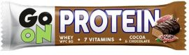 Акция на Go On Nutrition Protein Bar 50 g /1 servings/ Cocoa-Chocolate от Stylus