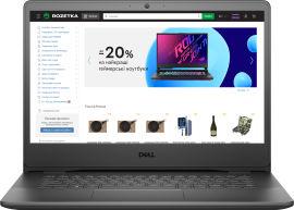 Акция на Ноутбук Dell Vostro 14 3400 (N6006VN3400UA03_2201_UBU) Accent Black от Rozetka