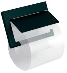 Акция на Держатель для туалетной бумаги LANGBERGER SLIM black 2138041A-BP от Rozetka