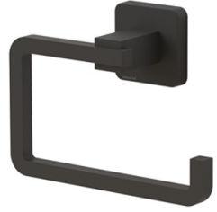 Акция на Держатель для туалетной бумаги TEKNO-TEL MG394 чёрный матовый от Rozetka