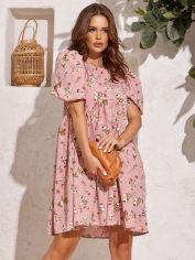 Акция на Платье ISSA PLUS 12840 L Розовое (issa2003935588771) от Rozetka