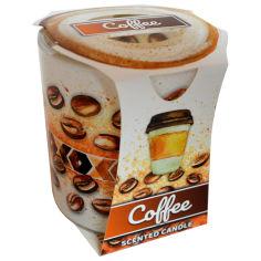 Акция на Свечка в стакане Admit Кофе, 90 г от Auchan
