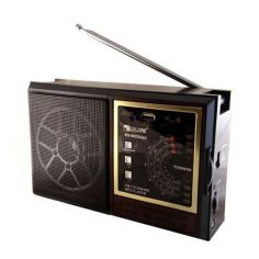 Акция на Радио RX 98, Радиоприемник от сети и батареек, Радиоколонка MP3 переносная от Allo UA