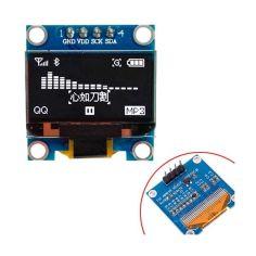 Акция на OLED дисплей графический SSD1306 I2C 4p 0.96 128x64 Arduino, белый от Allo UA