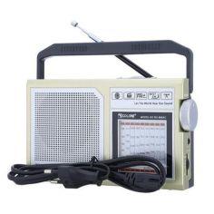 Акция на Радиоприёмник GOLON RX 888AC, Радиоприемник от сети и батареек, Радиоколонка MP3 переносная от Allo UA