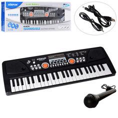 Акция на Синтезатор BIGFUN 49 клавиш, микрофон, запись, 53 см BF-5301C (6952003163555) от Allo UA
