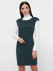 Акция на Платье Fashion Up Latina PL-1804B 44 Темно-зеленое (FU2100000234097) от Rozetka
