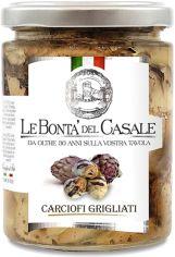 Акция на Артишоки Le Bonta' del Casale гриль в масле 314 мл (8020454000656) от Rozetka