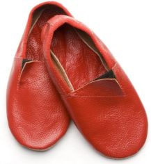 Акция на Чешки кожаные Модный карапуз 06-00012 24 15 см Красные (4822635806125) от Rozetka
