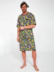 Акция на Ночная рубашка + колпак Cornette 109-21/05 L Разноцветная (5902458172627) от Rozetka