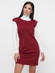Акция на Платье Fashion Up Latina PL-1804C 42 Марсала (FU2100000234127) от Rozetka