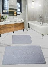 Акция на Набор ковриков в ванную комнату Liza grey Diva от Podushka