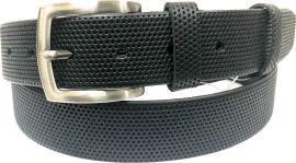 Акция на Мужской ремень кожаный Sergio Torri 1-029 125 см Черный (2000000001753) от Rozetka