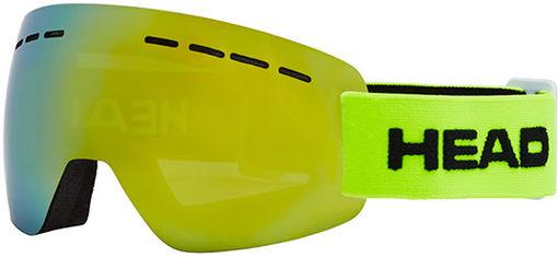 Акция на Маска горнолыжная HEAD Solar FMR Lime (726424484546) от Rozetka