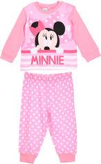 Пижама (футболка с длинными рукавами + штаны) Disney Minnie RH0371.I00.B 81 см Розовая (3609082899232) от Rozetka