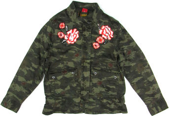 Джинсовая куртка s.Oliver 66.808.56.2616 140 см Хаки (s.03672548395) от Rozetka