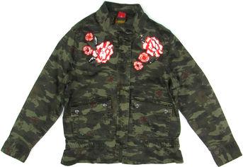 Акция на Джинсовая куртка s.Oliver 66.808.56.2616 140 см Хаки (s.03672548395) от Rozetka