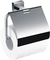 Акция на Держатель для туалетной бумаги закрытый AQUA RODOS Терра 4786 хром от Rozetka