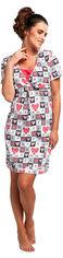 Акция на Ночная рубашка Cornette 693-18/180 All you need 2 M Розовый/Белый/Графит (5902458106301) от Rozetka