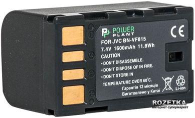 Акция на Aккумулятор PowerPlant для JVC BN-VF815 (DV00DV1221) от Rozetka