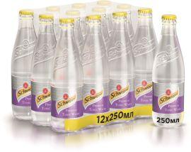 Акция на Упаковка безалкогольного напитка Schweppes Premium Tonic Water 250 мл х 12 бутылок (5449000025739) от Rozetka