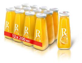 Акция на Упаковка сока Rich Апельсиновый с мякотью 0.2 л х 12 шт (4650075420690) от Rozetka