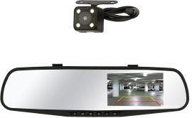 Акция на Видеорегистратор Discovery BB1 MRR Full HD 2 камеры Black (BB1MRRTWCb) от Rozetka