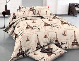 Акция на Комплект постельного белья MirSon Сатин 22-1291-1 Paris 110х140 (2200004110257) от Rozetka