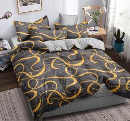 Акция на Комплект постельного белья MirSon Сатин 22-1254-1 Hoatzin 160х220 (2200004107950) от Rozetka