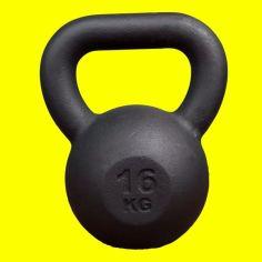 Акция на Гиря 16 кг KingSport, гиря для кроссфита, гиря 16кг чугунная от Allo UA