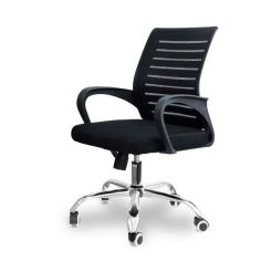 Акция на Кресло офисное сетка Seaton Fusion D black от Allo UA
