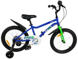 "Акция на Велосипед детский RoyalBaby Chipmunk Mk 18"", Official UA, синий от Y.UA"