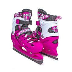 Акция на Коньки раздвижные Scale Sport. Pink, размеры 29-33; 38-41 от Allo UA