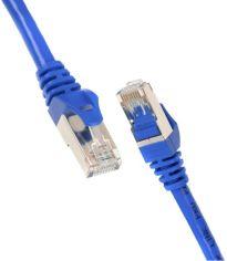Акция на Патч-корд 2E Cat 5e, UTP, RJ45, 26AWG, 7/0.16 Cu, 0.50 m, PVC, Blue (2E-PC5ECOP-050BL) от MOYO