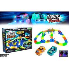 Акция на Гоночный трек Magic Tracks 360 деталей, 2 машинки от Allo UA