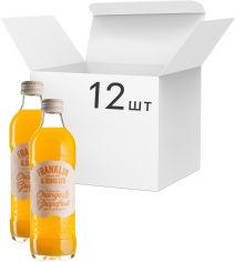 Акция на Упаковка напитка газированного Franklin & Sons Апельсин и Грейпфрут 0.275 л x 12 шт (5032678005792) от Rozetka