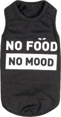 """Акция на Борцовка для собак Pet Fashion """"No food-no mood"""" M Черная (4823082421770) от Rozetka"""